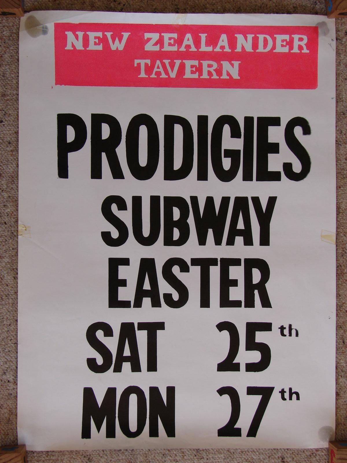 Prodigies at New Zealander Tavern
