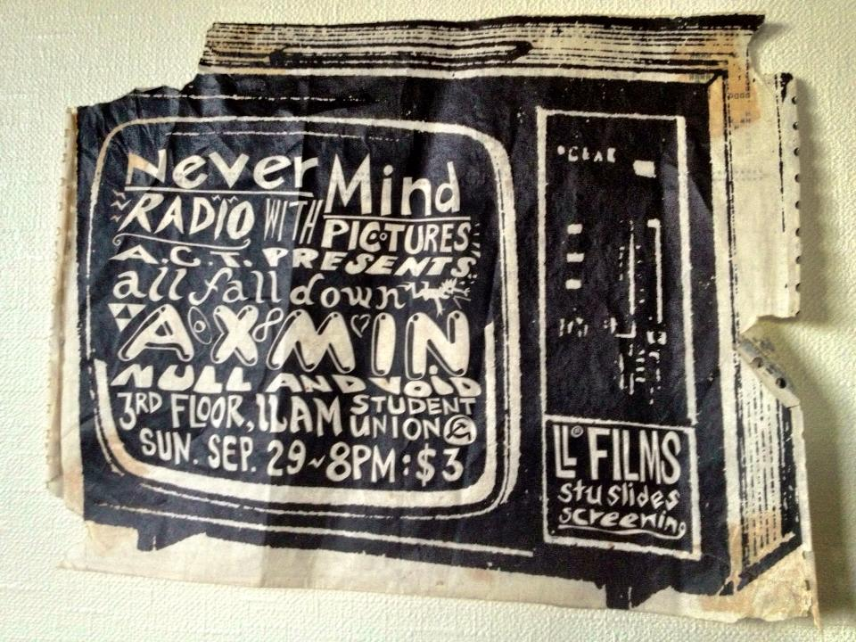 Legendary Axmin/Axemen Poster 1985